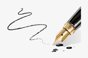 1006 10067859 vector pens calligraphy pen fountain pen running out.png