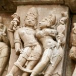 The elegance of the frescoes of temples of love