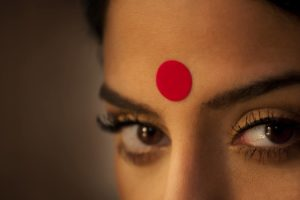 Eyes and Bindi