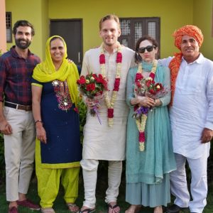 Karl Rock and His Haryanvi Family
