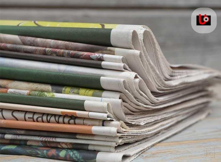 News paper image