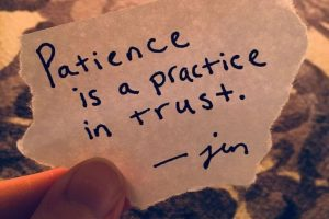 free short stories on Patience