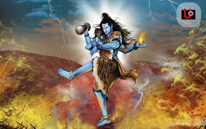 Shiva in Tiger skin