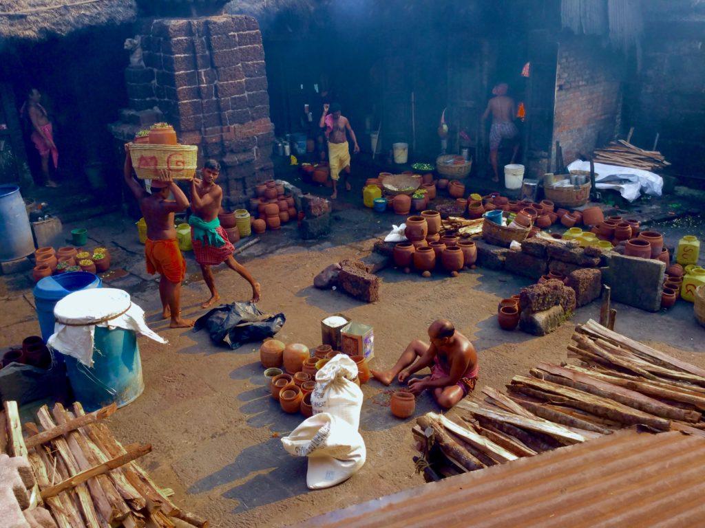 Temple Kitchen of Ananta Basudeba Temple Bhubaneswar