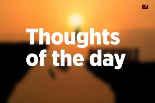 Thoughts-of-the-day