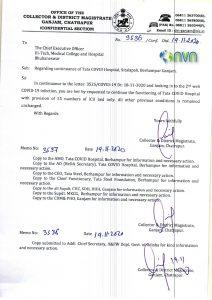 MKCG Hospital in Odisha