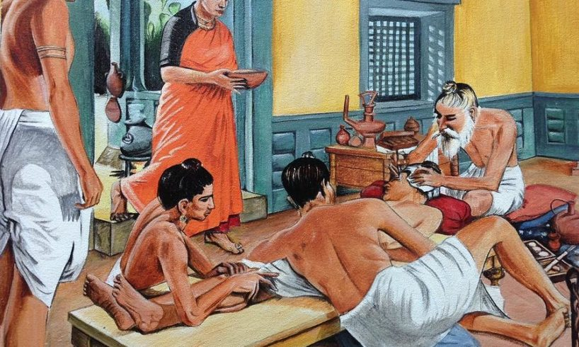 ancient surgery by sushruta pv mathew