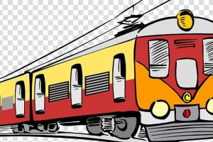 rail transport train electric locomotive passenger car clip art train