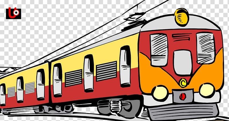rail transport train electric locomotive passenger car clip art train